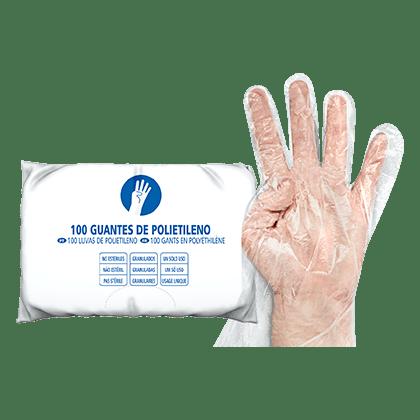 Guante de Polietileno-LD Higiene